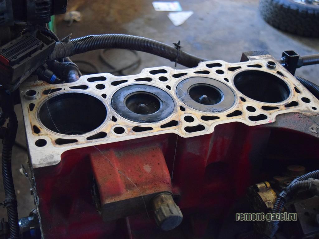 Этому двигателю требуется капремонт