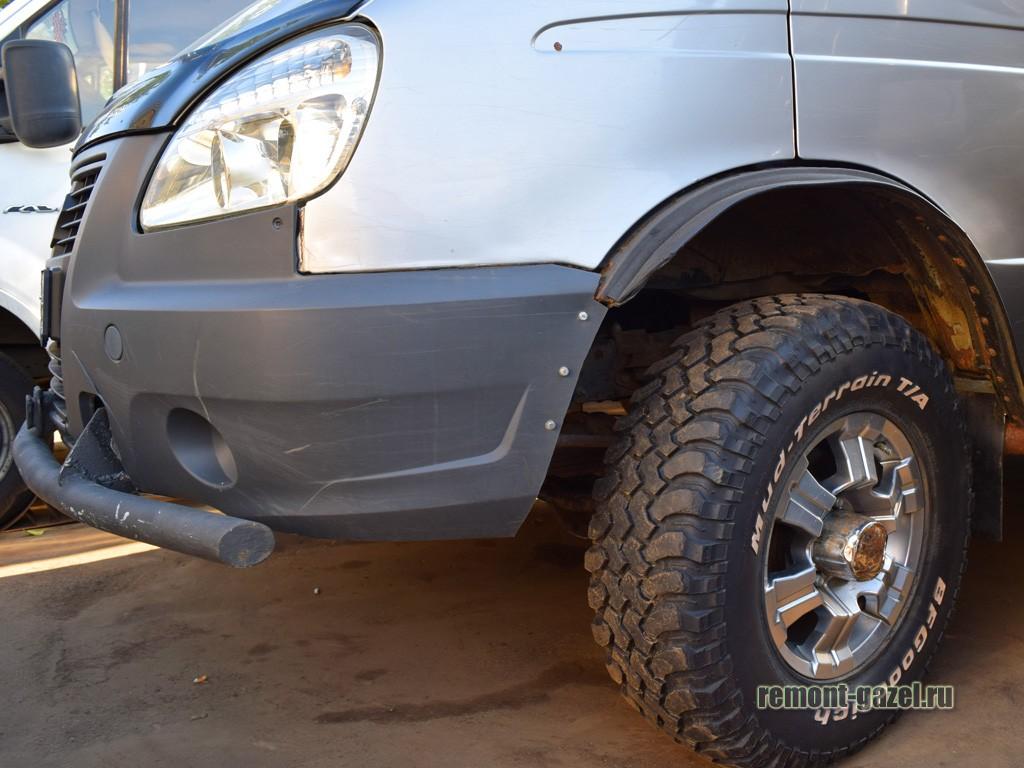 Тюнинг подвески ГАЗ Соболь 4х4 4WD
